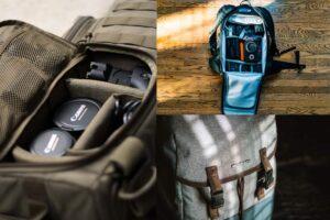 Bolsos, mochilas y fundas para cámaras de fotos