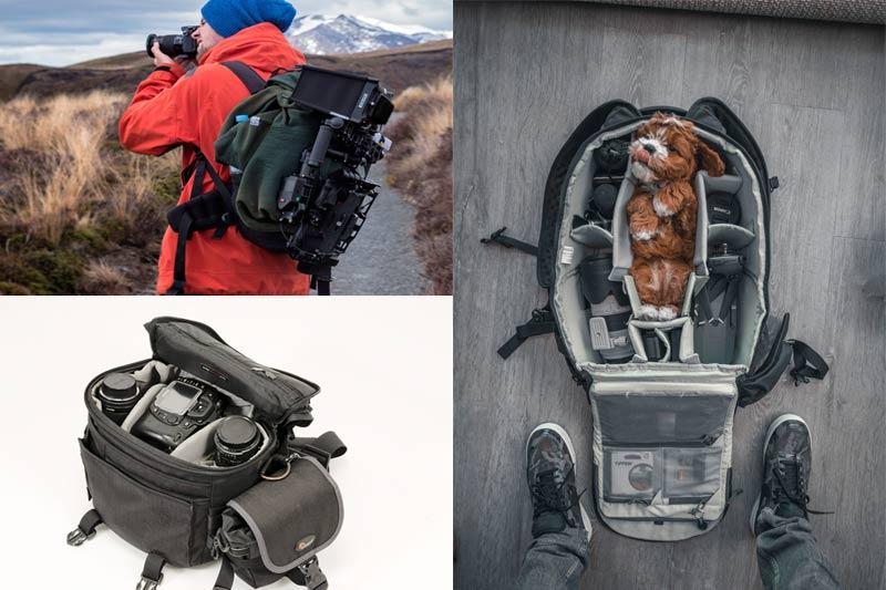 Bolsos cámaras de fotos