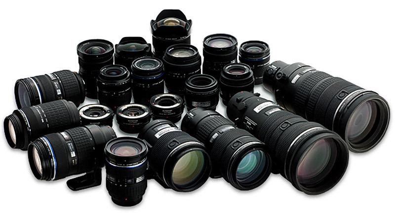lentes camara fotografica