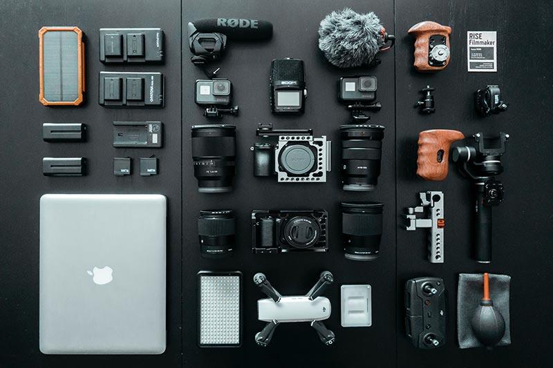 Accesorios para cámara de fotos