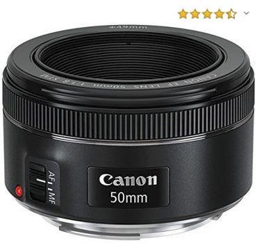 Objetivo para retratos Canon