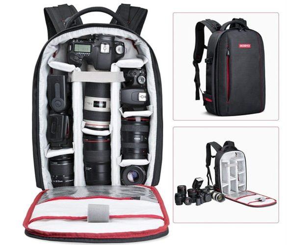 mochila para cámara reflex barata