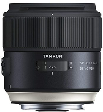 Objetivo para retrato Tamron Canon