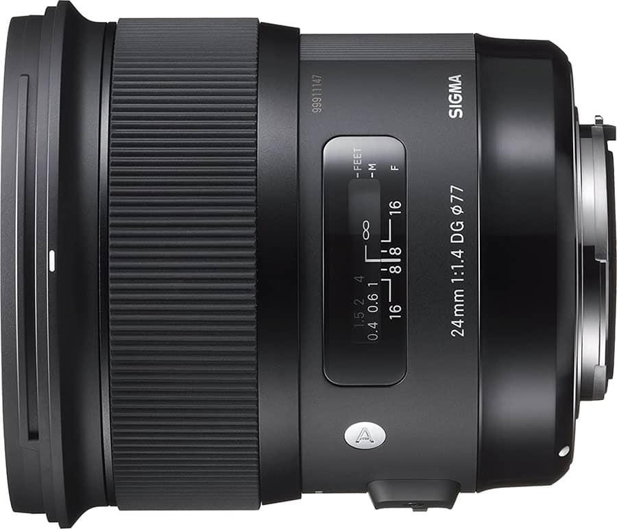 Lente gran angular canon - Sigma 24mm f/1.4 DG HSM Art