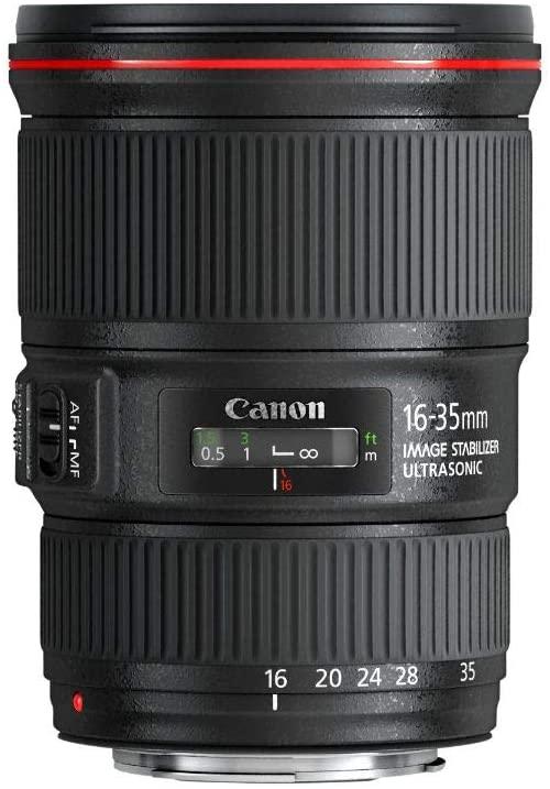 zoom gran angular Canon EF 16-35mm f/4 L IS USM